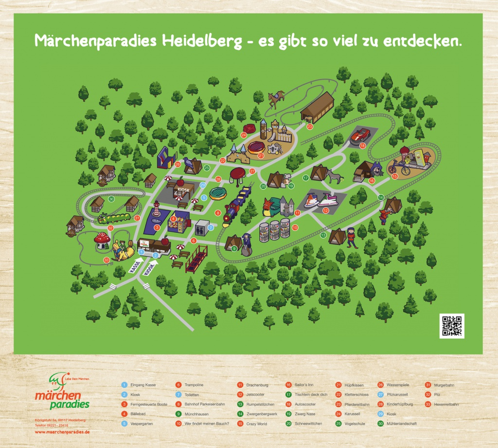 2016 Parkplan Märchenparadies