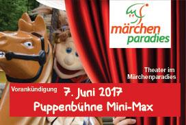 Puppenbühne Mini-Max