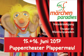 Puppentheater Plappermaul am 15. und 16. Juni 2017