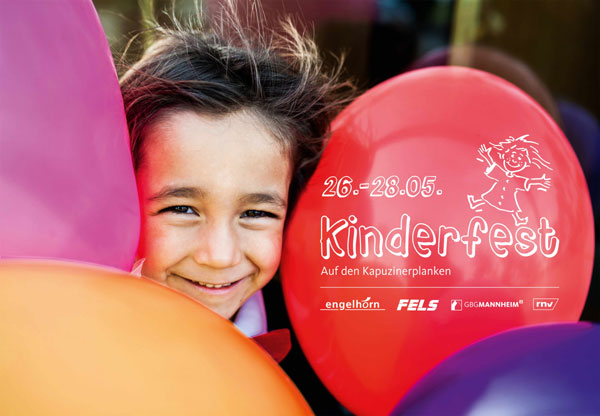 Kinderfest Mannheim 24. – 26. Mai 2019