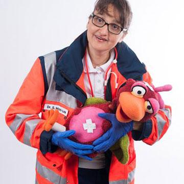 Frau Doktor hat einen Vogel – Gesundmachgeschichten für Kinder