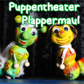 Kasper und der Bücherwurm – Puppentheater