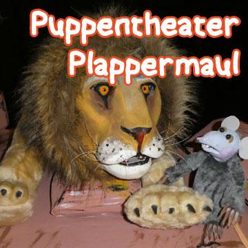 Der Löwe und die kleine Maus – Puppentheater