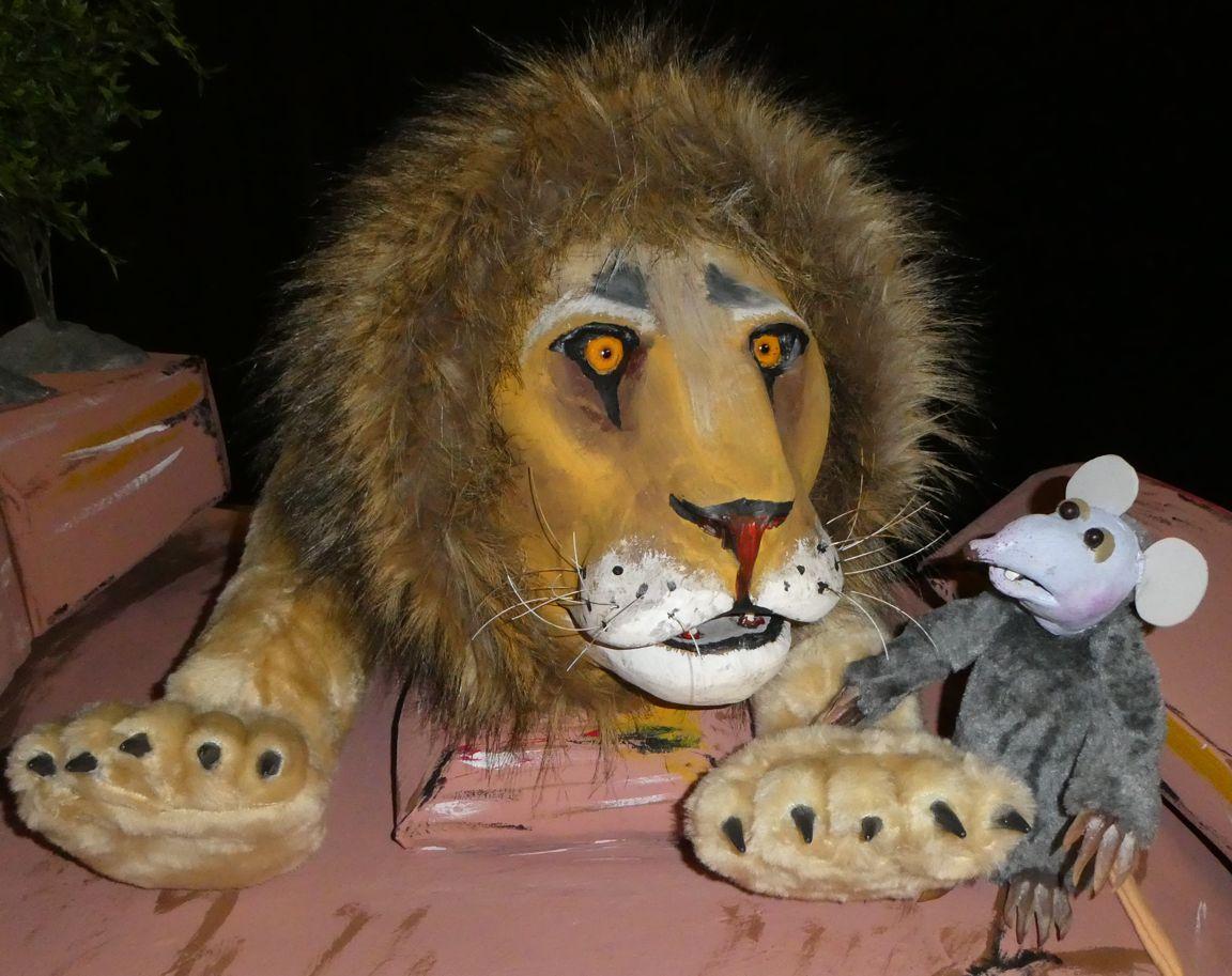 der löwe und die kleine maus  puppentheater  märchenparadies